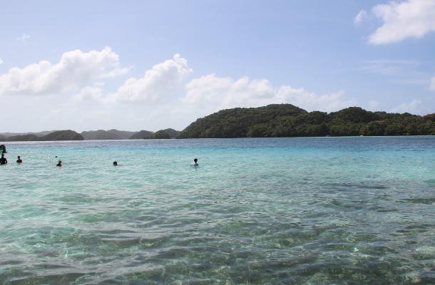帕劳群岛游记