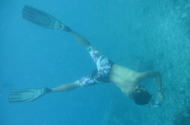 帕劳潜水的教练