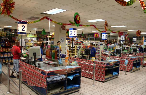 帕劳全国最大的超市